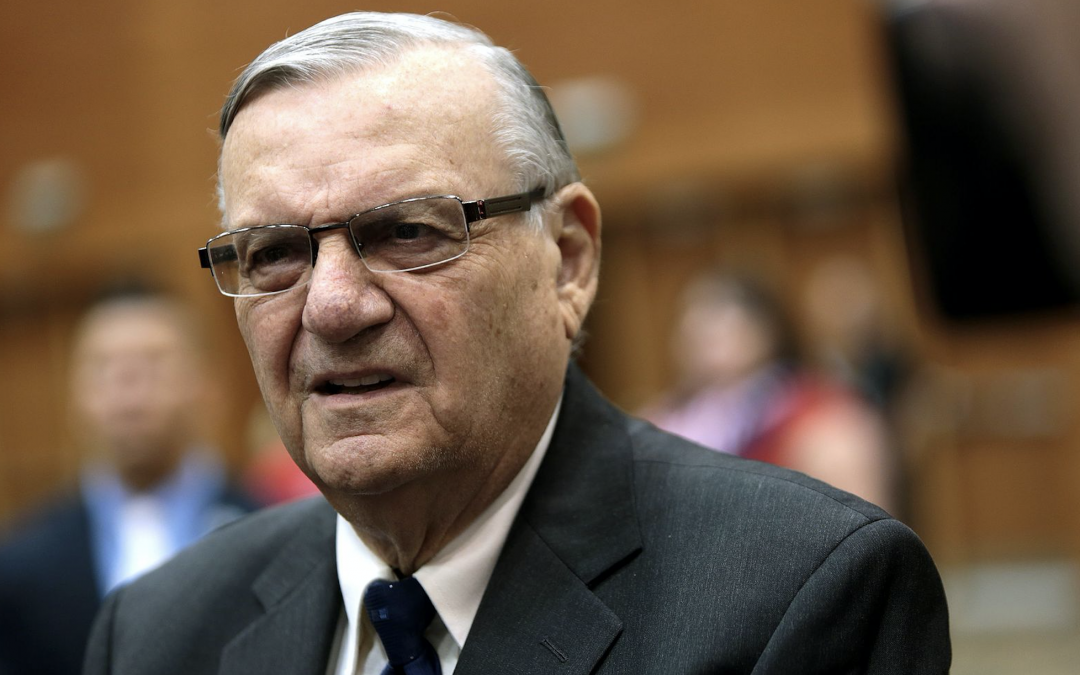 Joe Arpaio Denied Federal Expungement